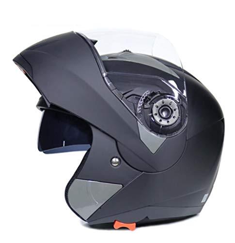 OLEEKA Casco Moto Flip Up Full Face Racing con 23 colori
