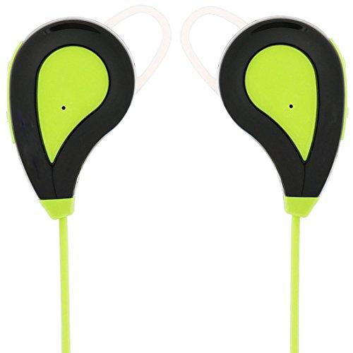 Joyeer Bluetooth Sport Musik Kopfhörer Sprachsteuerung Stereo Musik Headset Lärm Reduzierung Long Standby Kopfhörer mit Mic für alle Bluetooth Phone , green