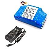 081 store - batteria di ricambio PER Smart Balance + caricabatteria caricatore alimetatore per hoverboard