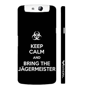 Oppo N1 Mini ITS ALL ABOUT JAGER designer mobile hard shell case by Enthopia