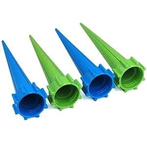 TRIXES 4 pezzi Kit Coni di irrigazione per piante da giardino per i periodi di vacanza, per bottiglie