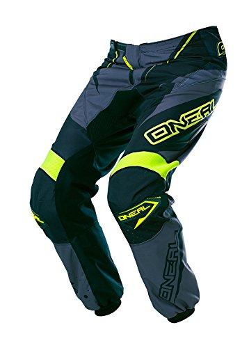 682a2639515e O'Neal Element MX Hose Racewear Schwarz Grau Neon Gelb Motocross Enduro  Offroad Quad, 0128-2, Größe 32/48