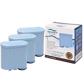 Aqualogis Al-Clean für Saeco CA6903/01 AquaClean Kalk und Wasserfilter (für Saeco und Philips Kaffeevollautomaten (3)