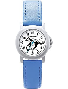 Cannibal Damen-Armbanduhr Analog Formgehäuse rosa CK193-05