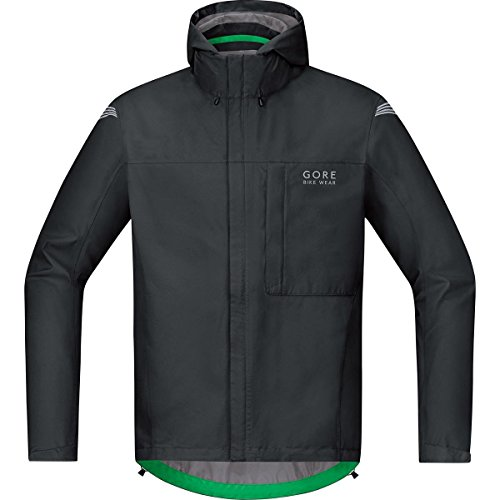 GORE BIKE WEAR ELEMENT GORE TEX PACLITE   CHAQUETA PARA HOMBRE  COLOR NEGRO  TALLA XL