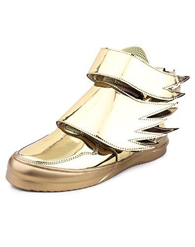 Jynx men's gold udta punjab sneaker