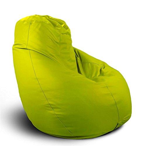 Pouf poltrona sacco grande BAG XXL Mamba ecopelle trendy verde mela ...