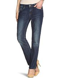 Cross Jeans Damen Jeans N 487-007 / Rose Straight Fit (Gerades Bein) Hoher Bund