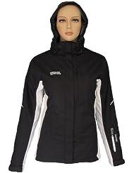 Nord Blanc de nieve para chaqueta de deporte Zara colour negro-blanco 38-48, otoño/invierno, color  - negro, tamaño 50 [DE 48]