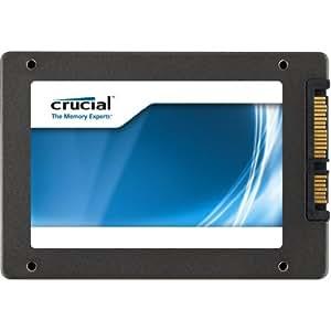 "Crucial SSD M4 CT128M4SSD2 Disque flash interne 2,5"" Controleur Marvell SATA III Epaisseur 9,5mm 128 Go SSD seul"