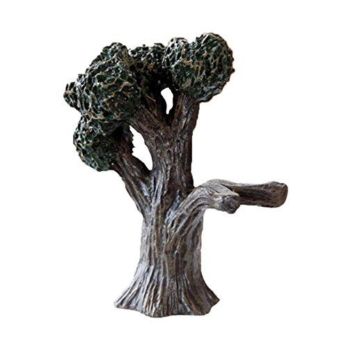 lameida Miniatur Harz Landschaft Baum Mini Baum Micro Landschaft Bonsai Dekoration Home Garten 10* 9cm