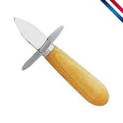 Couteau à huitre - Pack de 2 - Indispensable pour cet été ! Livraison Premium Amazon