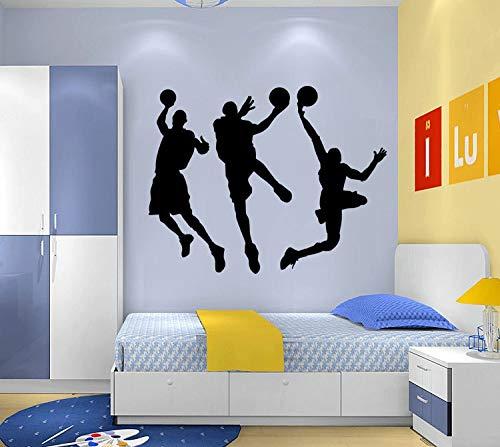 Europäische und amerikanische Umweltwandaufkleber zum des Basketballwohnzimmerschlafhintergrundhintergrundtapeten wasserdichte Abbau zu spielen (Halloween Musik An Zu Spielen)