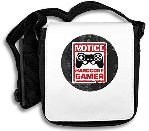Notice Hardcore Gamer Schultertasche