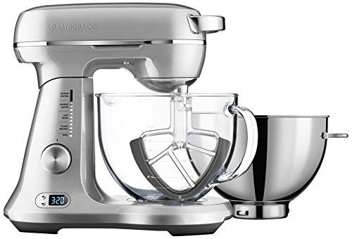 Gastroback 40989 Küchenmaschinen, Rostfreier Stahl, silberfarben