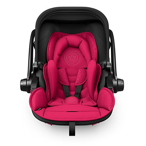 Preisvergleich Produktbild Kiddy Babyschale Evoluna i-Size 2 inkl. Isofix Base 2, 2018, Farbe:Berry Pink