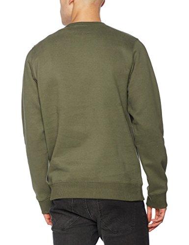 Dickies Herren Sweatshirt Harborcreek Vert (Dark Olive)