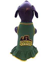 NCAA Baylor Bears Collegiate Cheerleader Dog Dress (Large) by All Star Dogs