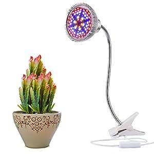 led grow lampe pour plantes de aokey pour plantes d 39 int rieur wahre 15 w pince lampe de bureau. Black Bedroom Furniture Sets. Home Design Ideas