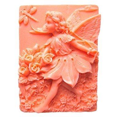 lllzz Flower Fairy Libelle Form Fondant Kuchen Schokolade Silikon Form Kuchen Dekoration Werkzeug, 9x * W7.2cm * h3.6cm - Turtles-silikon-form Ninja