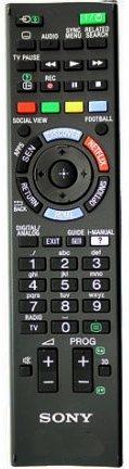 Sony 3D Smart TV LED/LCD NetFlix Remote (Works with all Sony LED/LCD's))  available at amazon for Rs.425