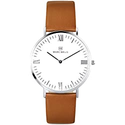 Marc Brüg Men's Minimalist Watch Paddington 41 Hygge