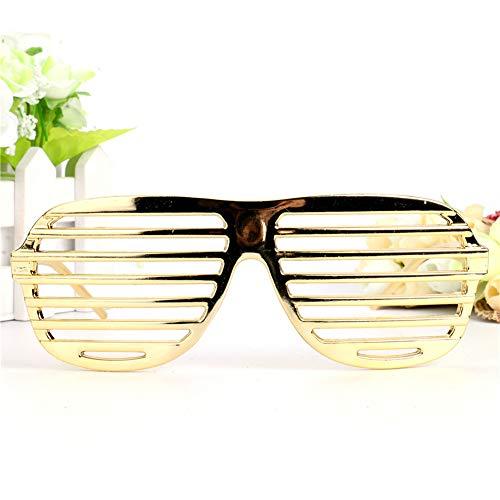 Kostüm Partei Thema Strand - Unbekannt Kanye West Stil Shutter Shades Kostüm Gläser Gastgeschenke Maske Brillen Requisiten Dekorativen Veranstaltung Festliche Partei Liefert