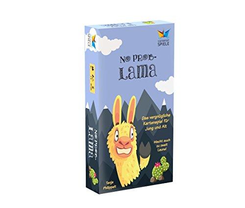 Starnberger Spiele 86047 – No Problama – Vergnügliches Kartenspiel für die Ganze Familie – Geschenk für Lama-Fans