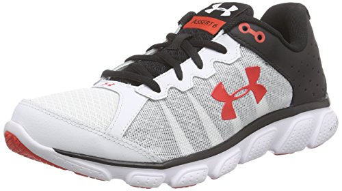 Under Armour Ua Micro G Assert 6, Chaussures de Course Homme Blanc (White)