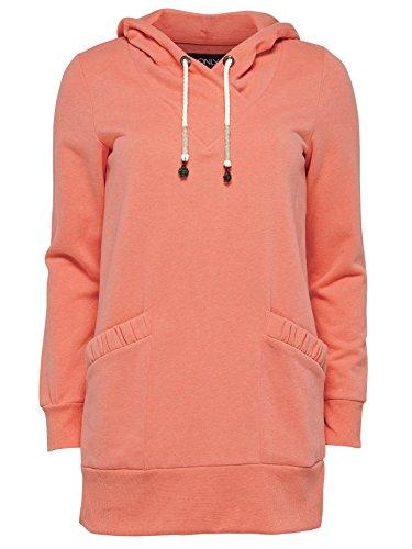 ONLY - Sweat à capuche - Femme Orange - orange (Burnt Coral)