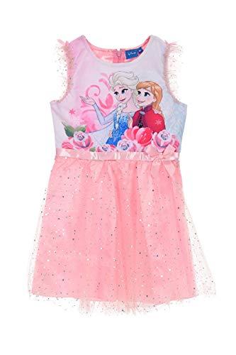 Frozen - Die Eiskönigin Disney Anna & ELSA Kleid Rosa, Größe:116 (6 A)