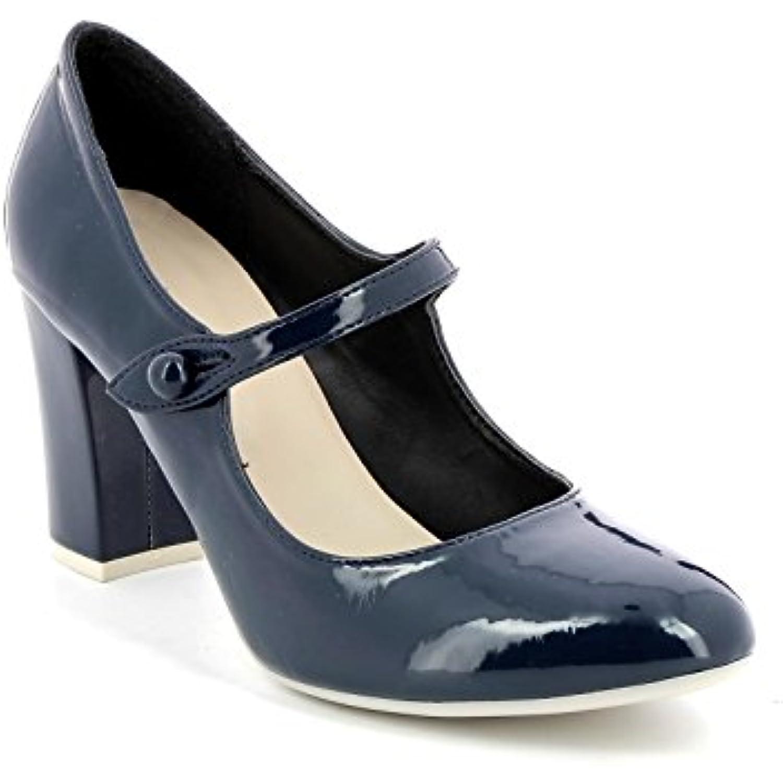Obsel:: by Scarpe&Scarpe - Scarpe col Vernice Tacco con Cinturino, in Vernice col - 36,0, Blue Parent -Buon rapporto qualità-prezzo, vale la pena avere 39f5f6