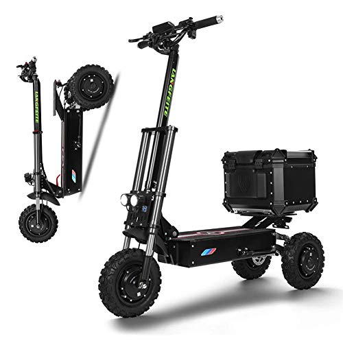 DYHQQ velocità Pieghevole Leggera 50MPH del motorino Elettrico Adulto Potente del Motore 3000W, motorino Portatile di Mobilità della Ruota di Mobilità 3