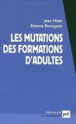 Les mutations des formations d'adultes