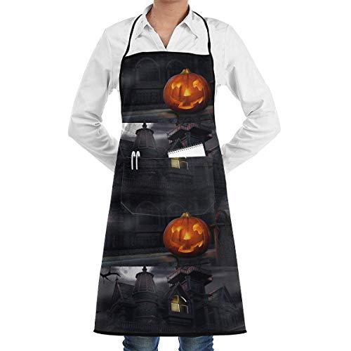 QIAOJIE Halloween-Kostüme Kochschürze lustige schwere Schürze zum Grillen, Grillen, Backen oder ()