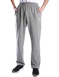 CAMEL CROWN Pantalones Deportivos para Hombres Ligeros Largos Pantalones de  Jogging Elásticos Pantalones de Algodón Pantalón 1b4635bef228