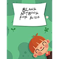 Blank Art Book For Kids: Blank SketchBook Drawing Paper For Doodling, Sketching, And Drawing For Kids, Creativity Gift For Imagination