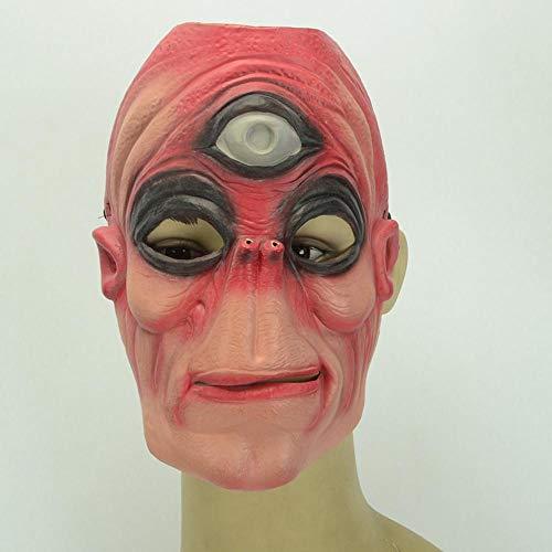 Littlefairy Halloween mask,Halloween Party Alien Latex Mask