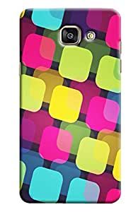 Meraki Silicone Soft Printed Back Cover For Samsung Galxaxy A7 2016