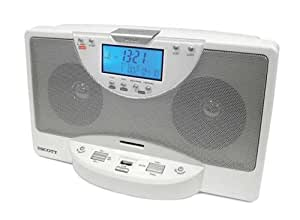 Scott RDX 28 Système audio USB /SD / MMC Radio tuner PLL Double alarme Compatible MP3/WMA
