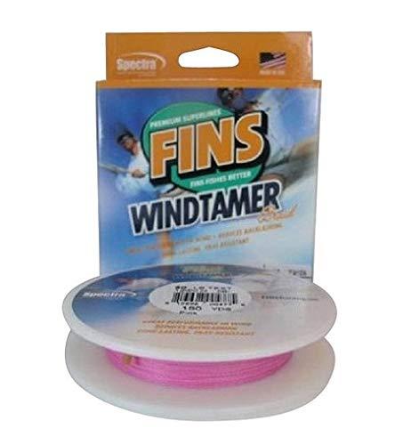 Fins Spectra Angelschnur, 500 Yards Windtamer, Rose, 4-Pound -