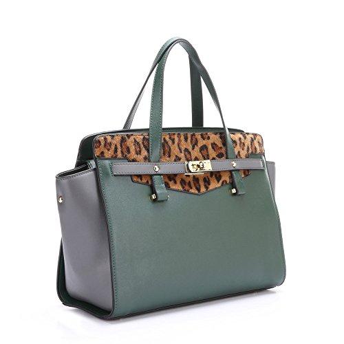 HB Style - Sacchetto bambina donna Dark Green