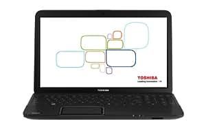 "Toshiba Satellite C850-11V Ordinateur portable 15,6"" (39,62 cm) Intel Celeron 320 Go RAM 4096 Mo Windows 7 Edition Premium Noir"
