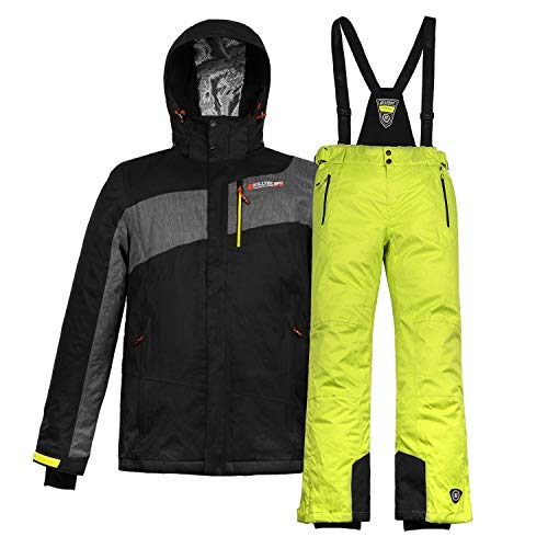 Killtec Herren Skianzug Skijacke + Skihose Farb- und Größenwahl (schwarz, M)