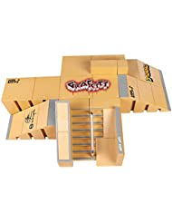 Creation® 8PCS Skatepark kit de piezas de rampa para la Tecnología de Cubierta del monopatín Finger Ultimate Deporte Entrenar Puntales