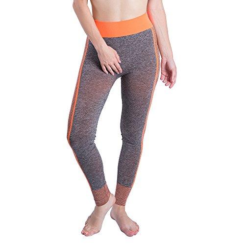 YWLINK Damen Einfach Gym Yoga Patchwork Sport LäUft Fitness Leggings Hosen Frauen...