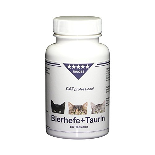 CAT professional Bierhefe + Taurin, 180 Tabletten