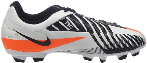 Nike, Jr T90 Shoot Iv Fg, Scarpe sportive, Ragazzo Windchill/Total Orange-Black