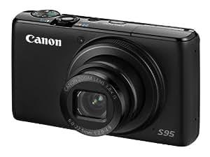 Canon Powershot S95 Fotocamera Digitale 10.4 Megapixel, colore: Nero