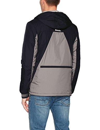 Bench Herren Jacke Col Block Jacket Grau (Brushed Nickel Gy11333)
